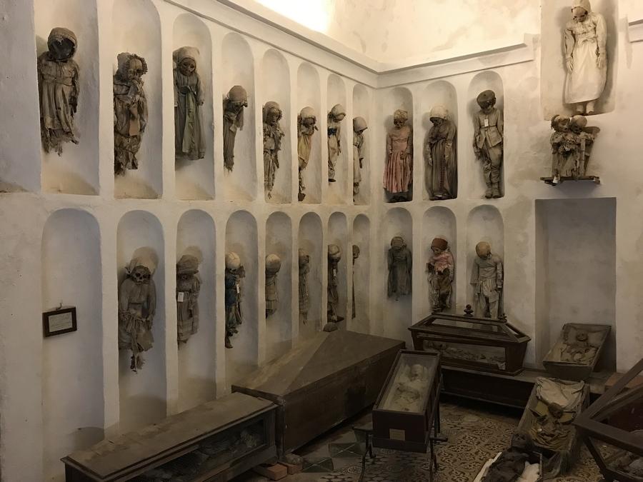 Catacombes des Capucins à Palerme en Sicile Italie