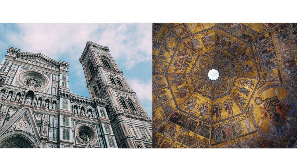 Cathédrale de Florence en Italie le dôme