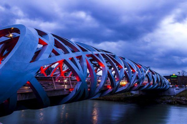 pont rollex à Genève